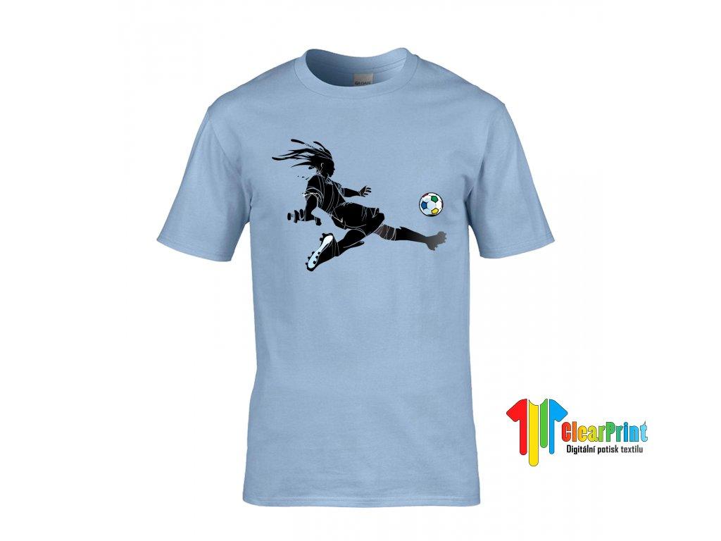 Fotbalista Náhled blue