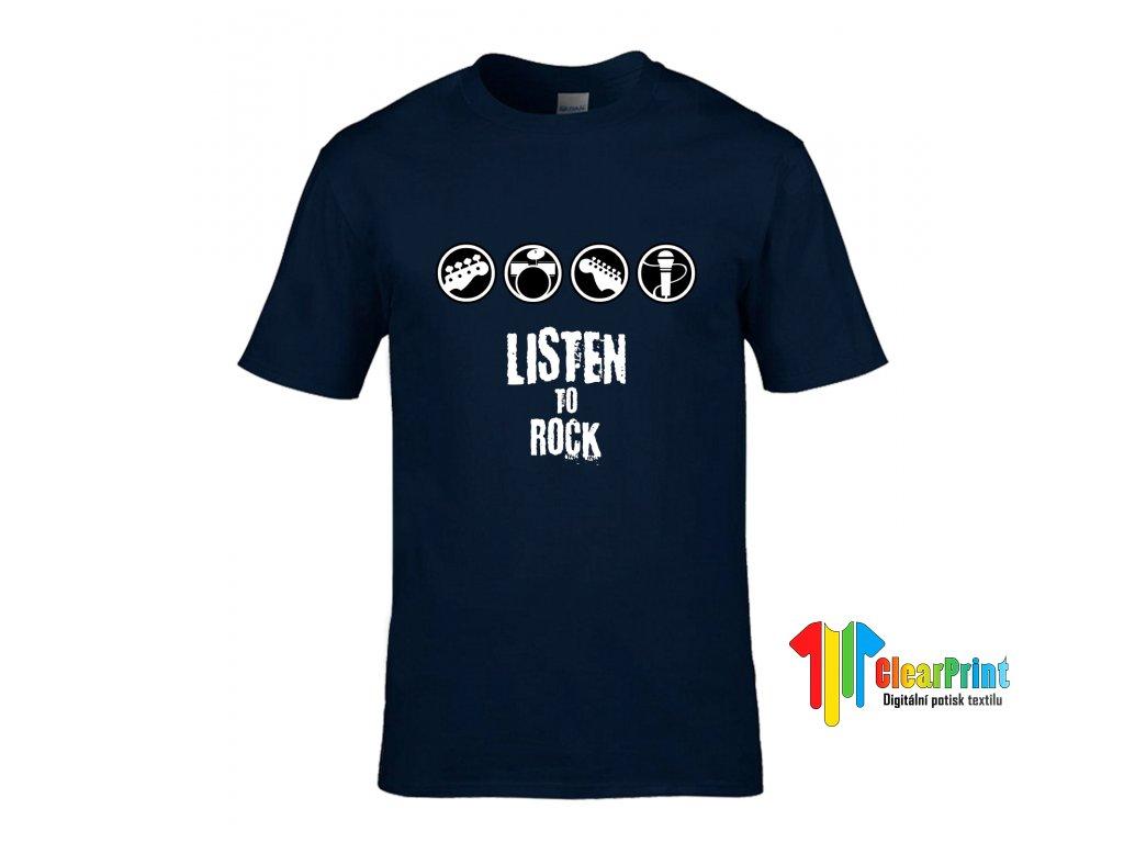 Listen To Rock Náhled navy