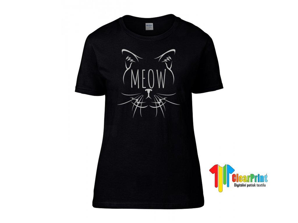 Meow Náhled black