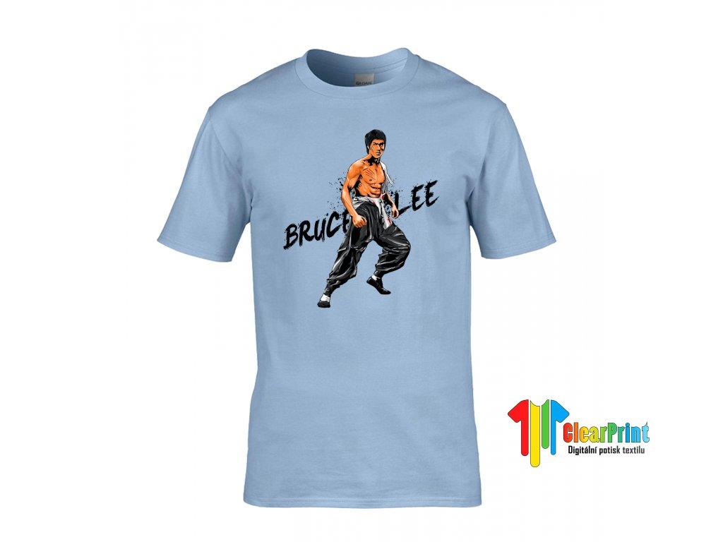 Bruce Lee Náhled light blue
