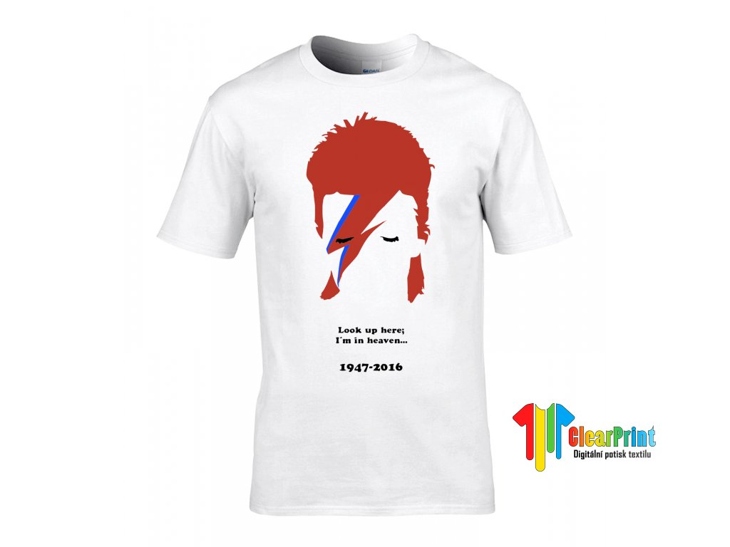 David Bowie Náhled white