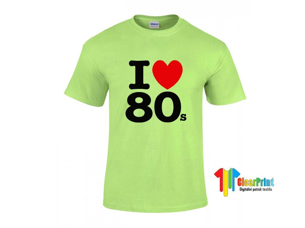 I love 80's Náhled green