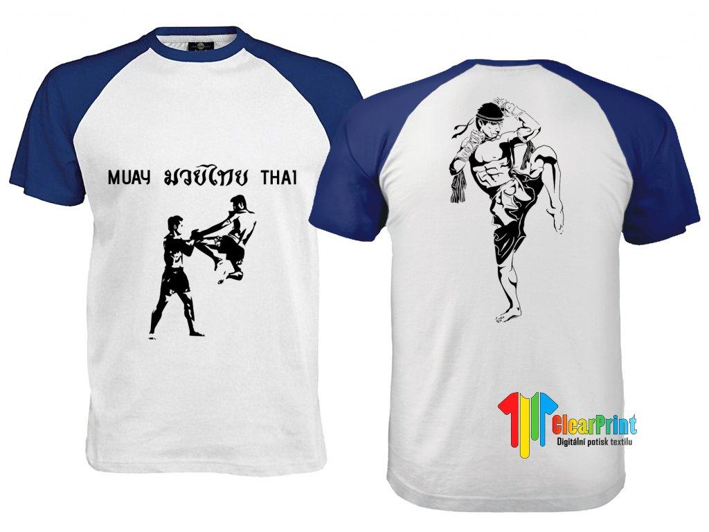 Muay Thai Náhled white