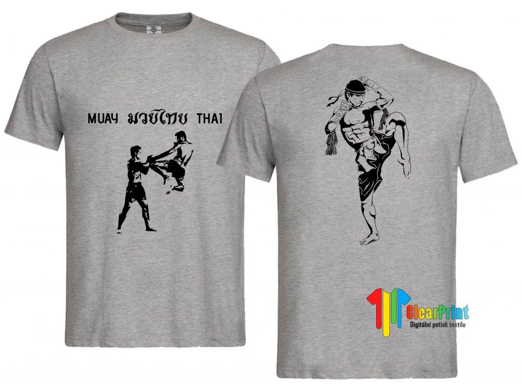 Muay Thai Náhled black white