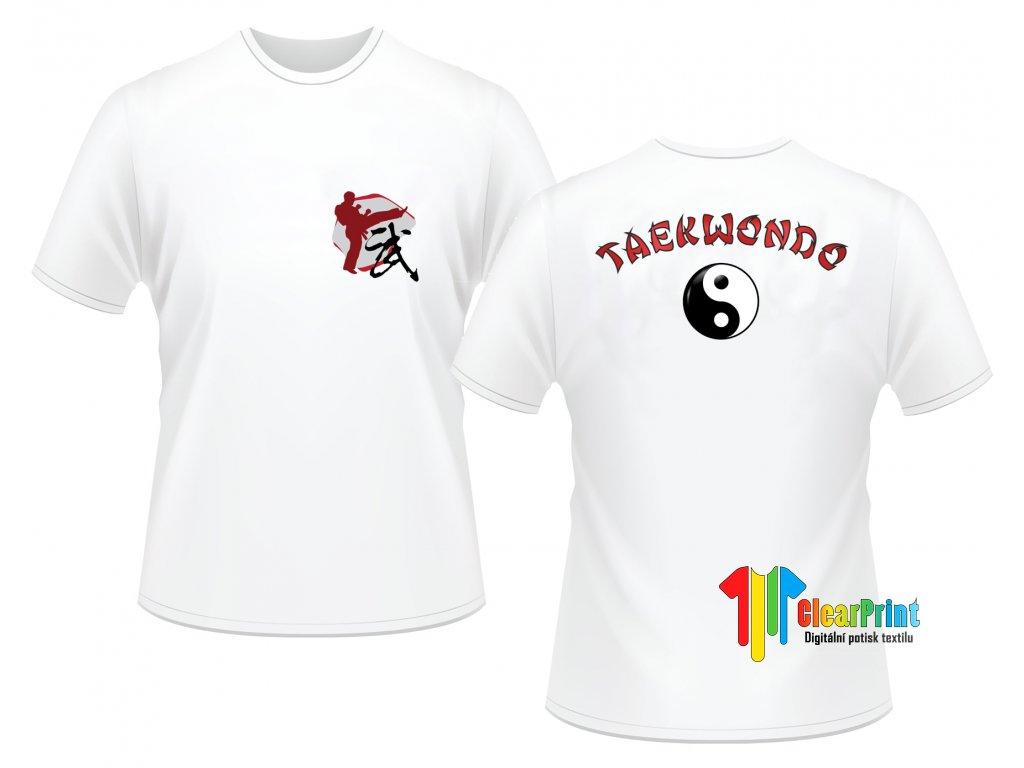 Taekwondo Náhled white