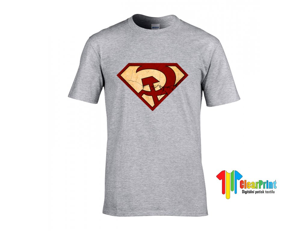 Red Superman Náhled grey