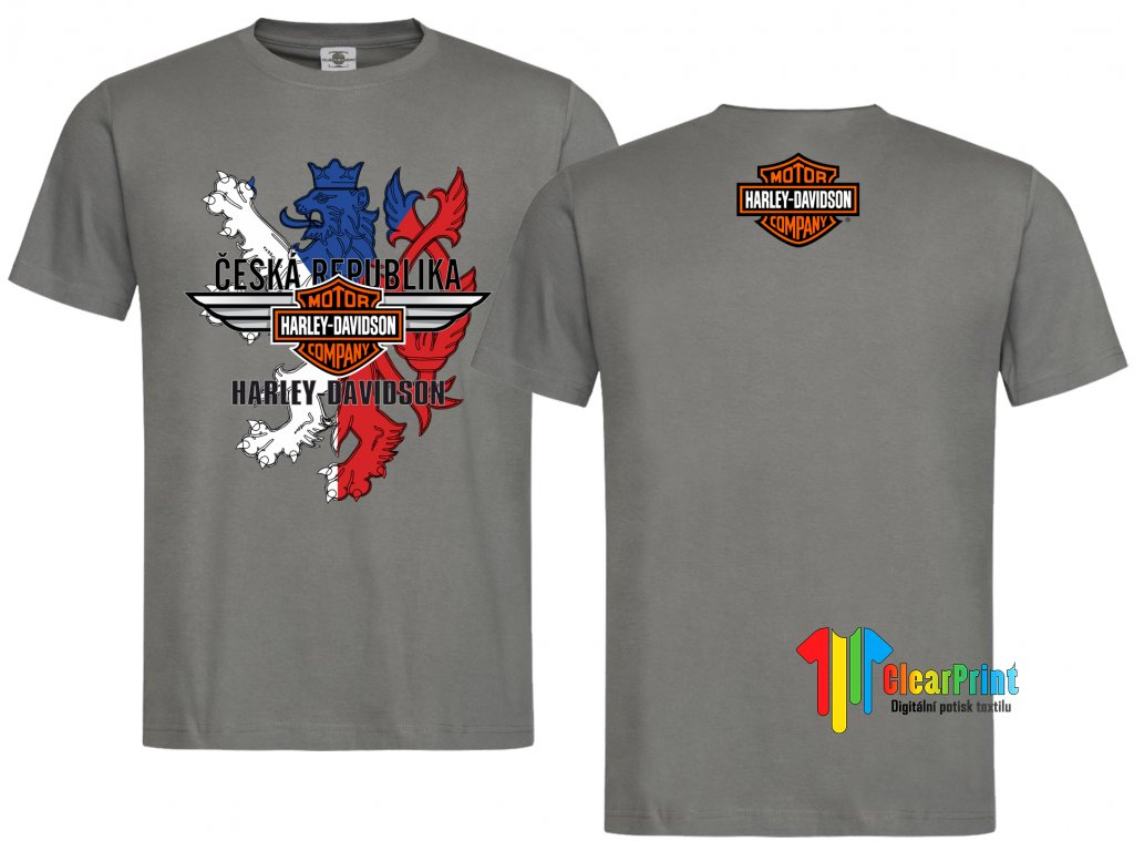 Harley Davidson ČR Náhled grey