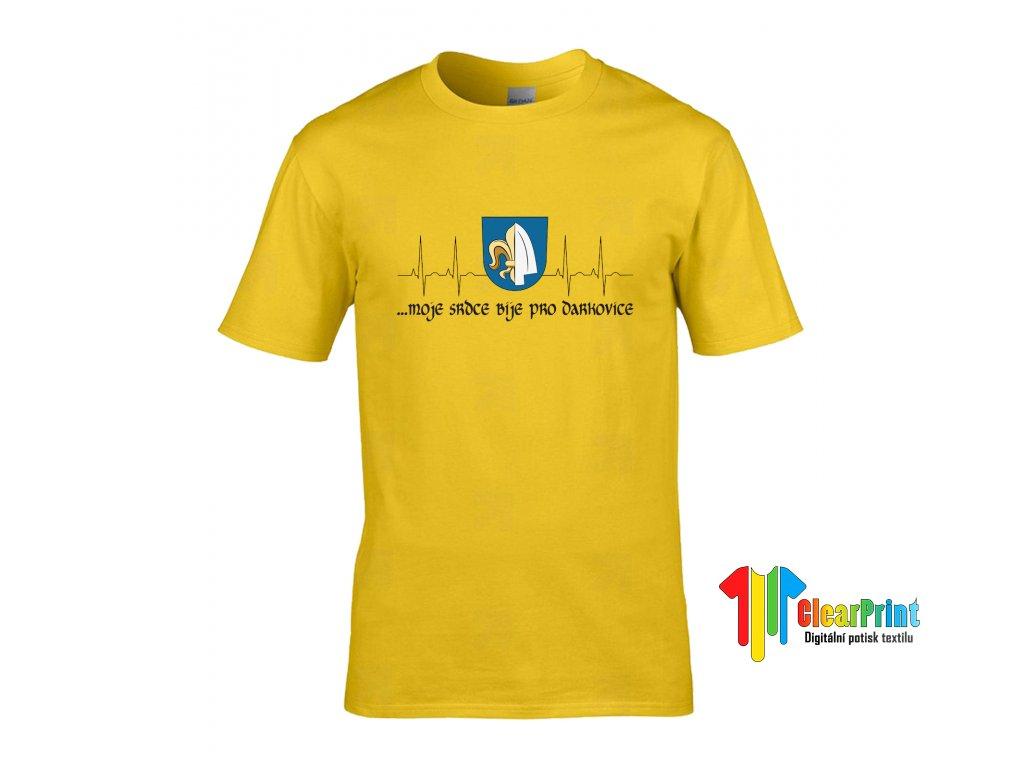 ...moje srdce bije pro Náhled yellow