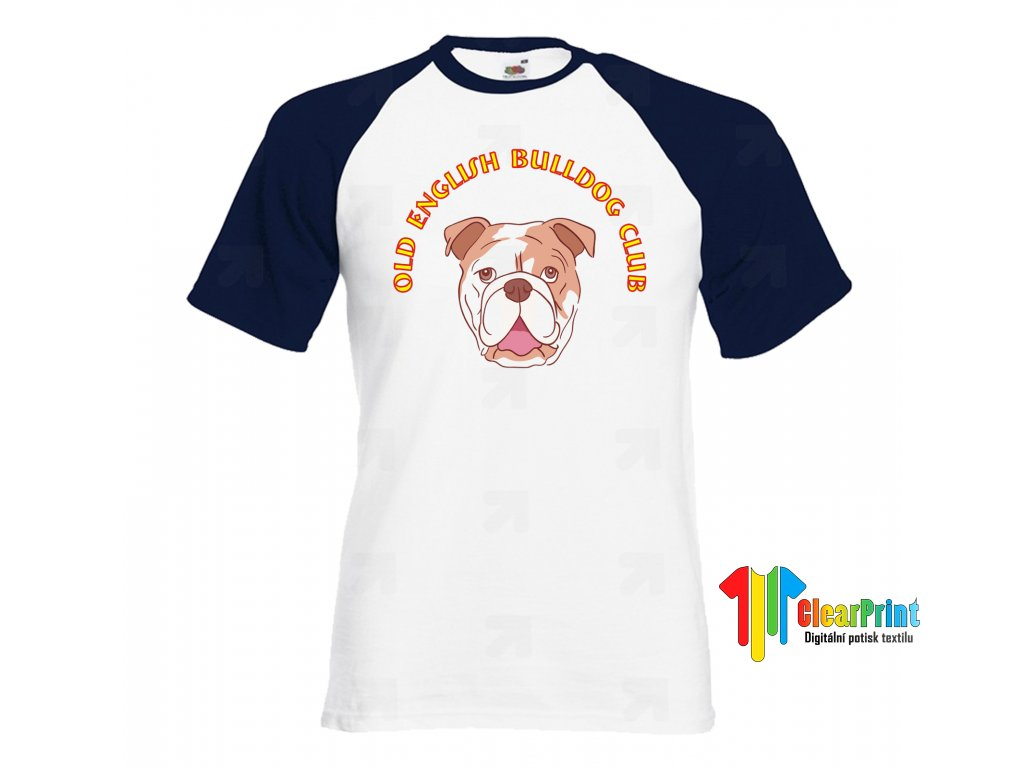 Old English Bulldog Club 2 Náhled navy white
