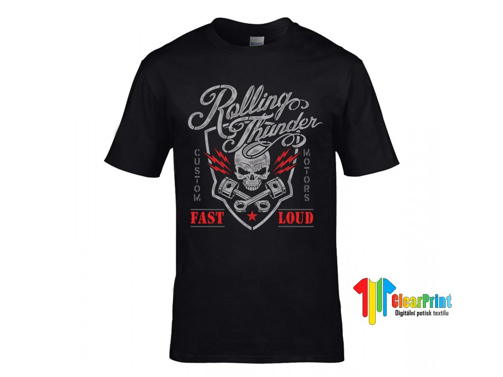Rolling Thunder Fast Loud Náhled black
