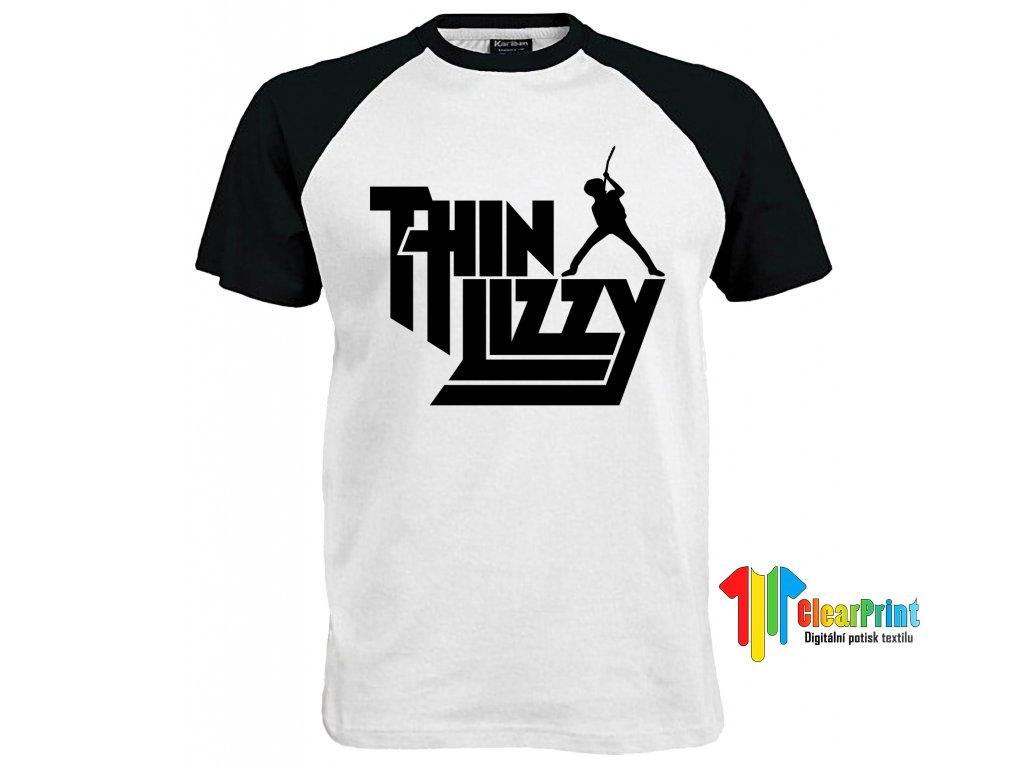 Thin Lizzy Náhled black white