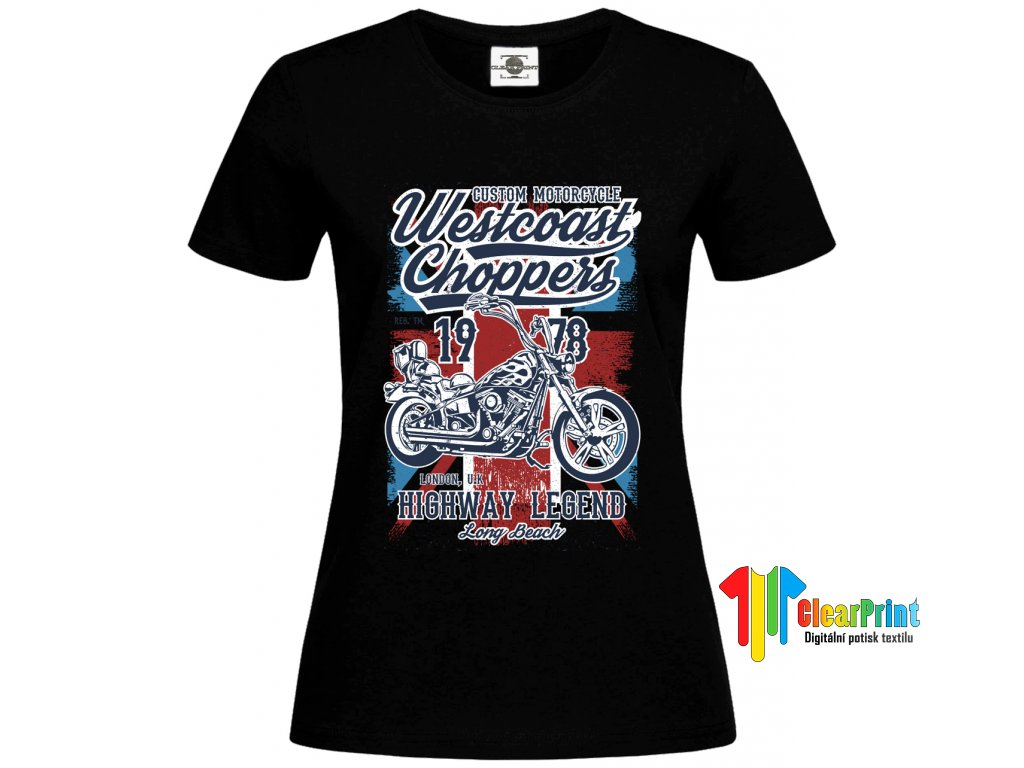 Westcoast Choppers Náhled black