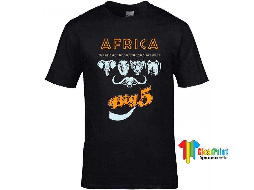 Africa Big 5 Náhled black