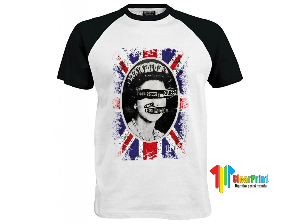 Good Save The Queen En Náhled black white