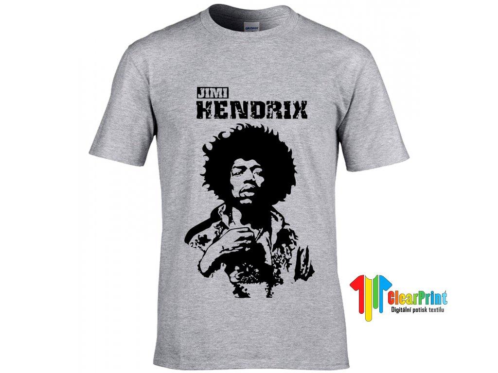 Jimi Hendrix Náhled grey