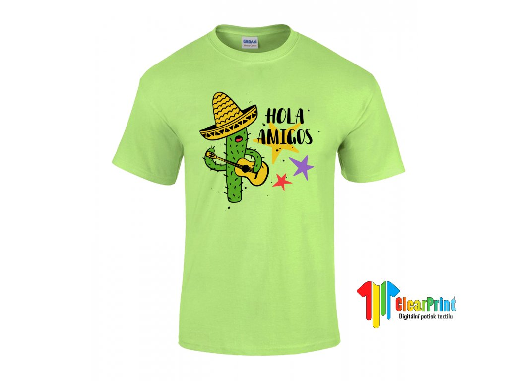Hola Amigos Náhled mint green