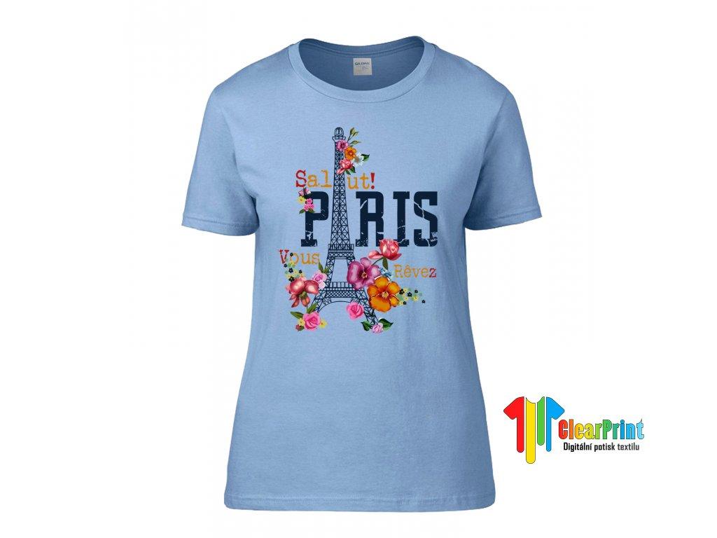Salut! Paris Náhled blue
