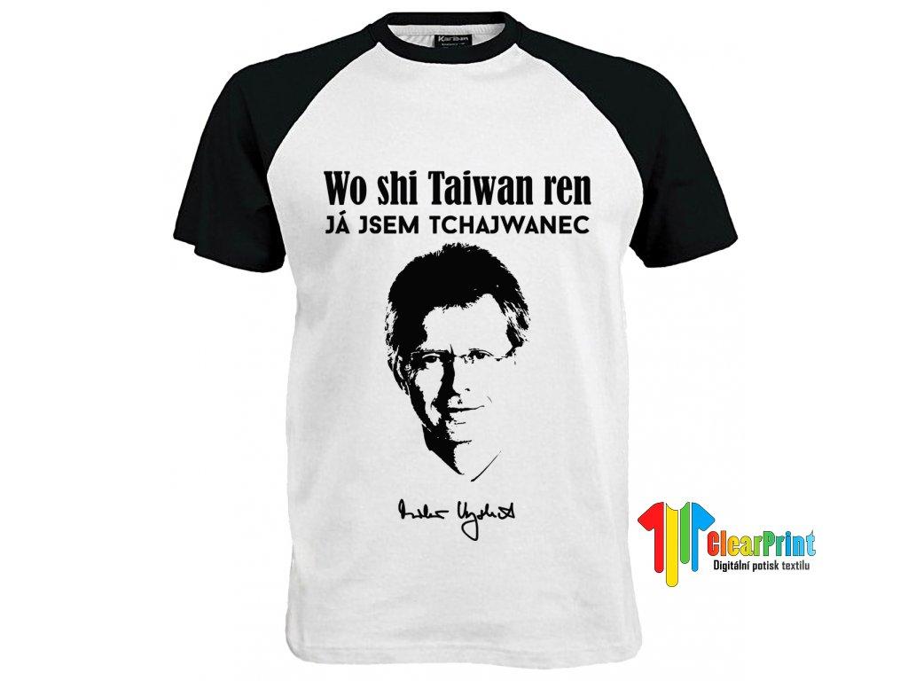 Já jsem Tchajwanec Náhled black white