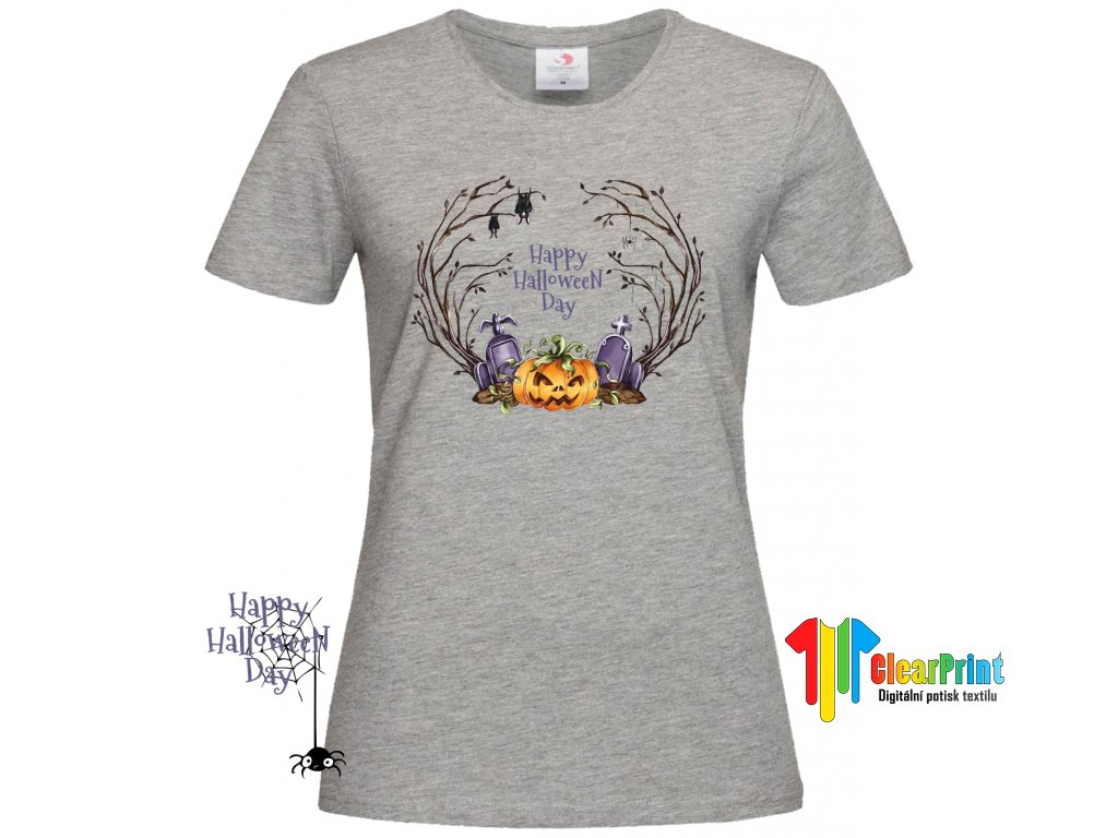 Happy Halloween Day Náhled grey d