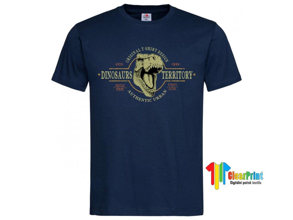 Dinosaurus Territory Náhled navy