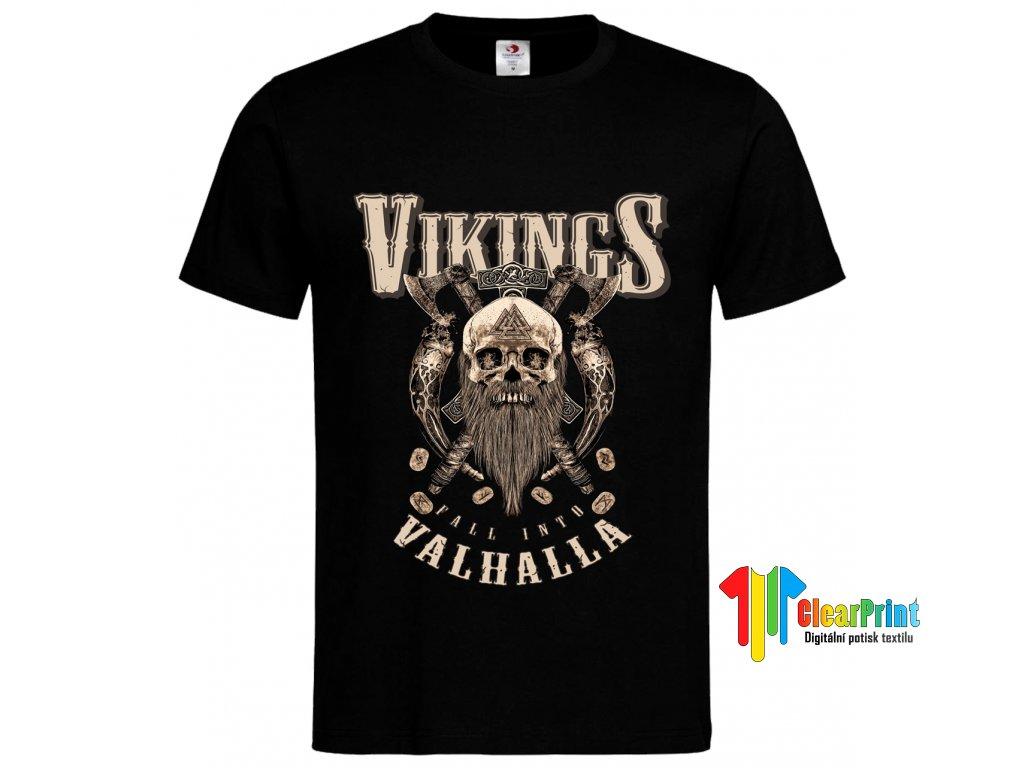 Vikings Náhled black