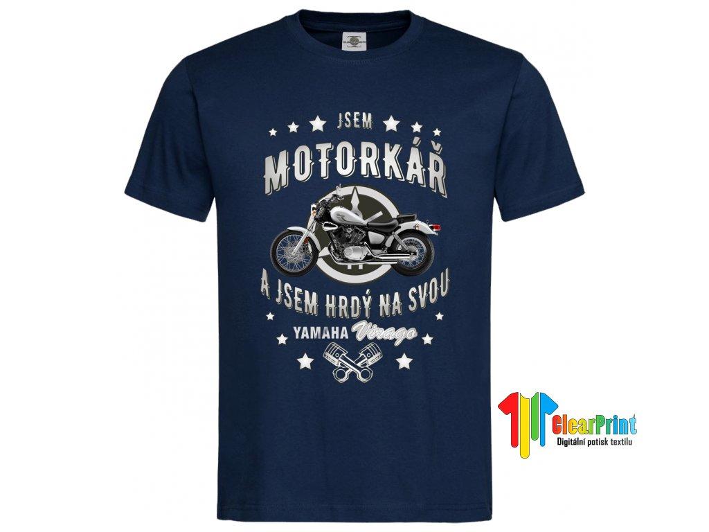 Jsem motorkář Náhled navy