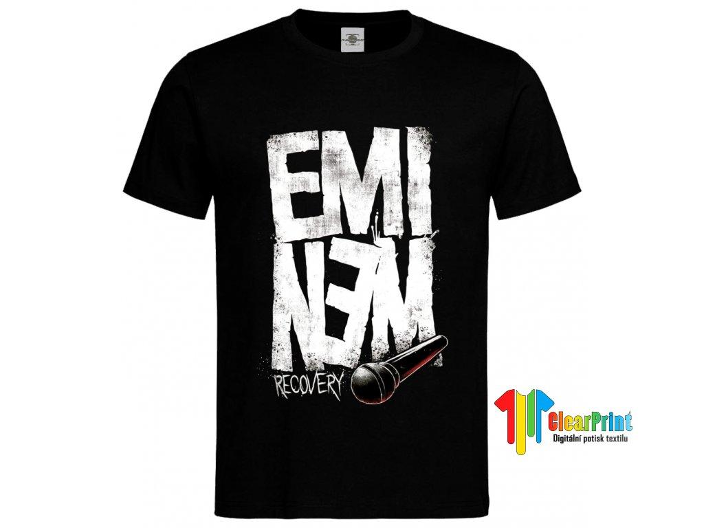 Eminem Recovery Náhled black