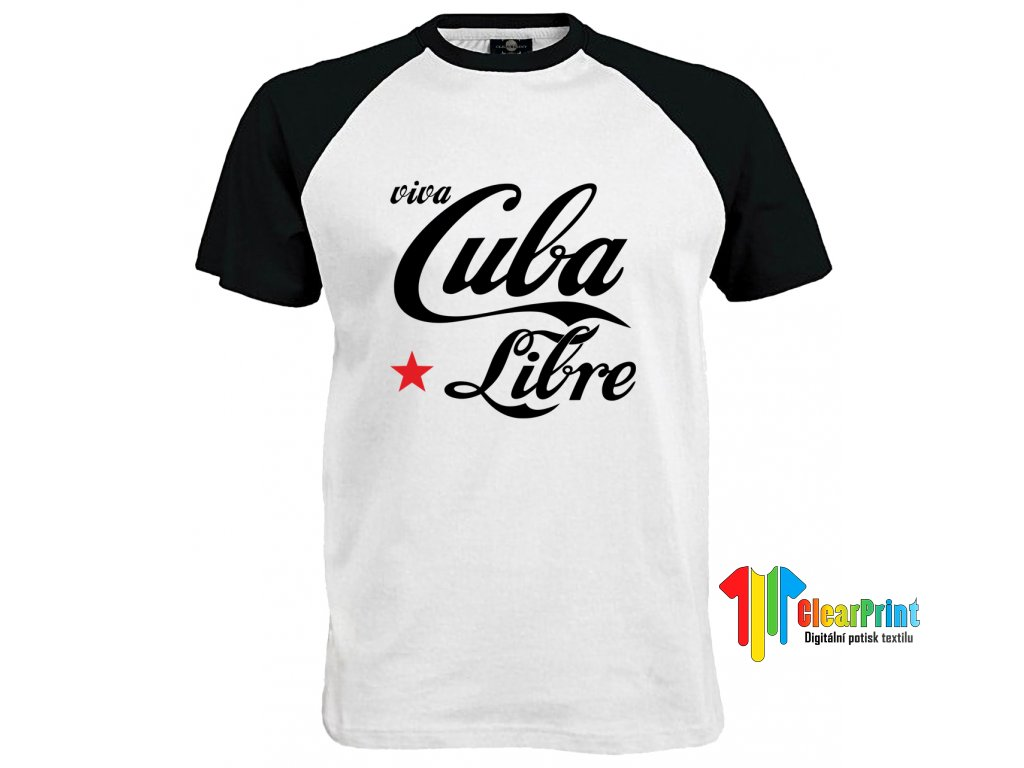 Cuba Libre Náhled black white