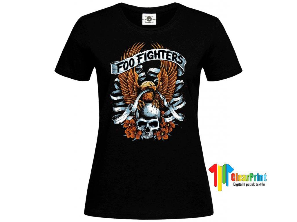 Foo Fighters Náhled black d