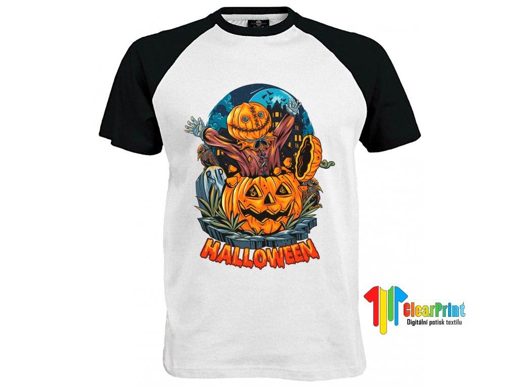 Halloween R.I.P. Náhled black white
