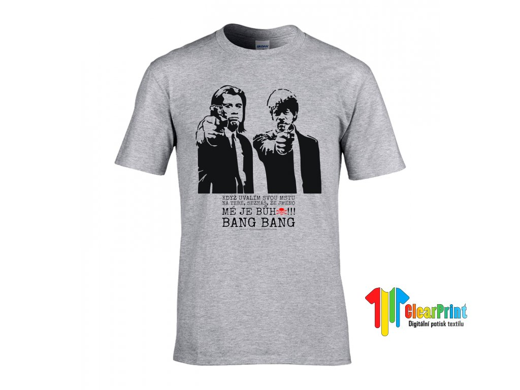 Pulp Fiction Náhled sport grey
