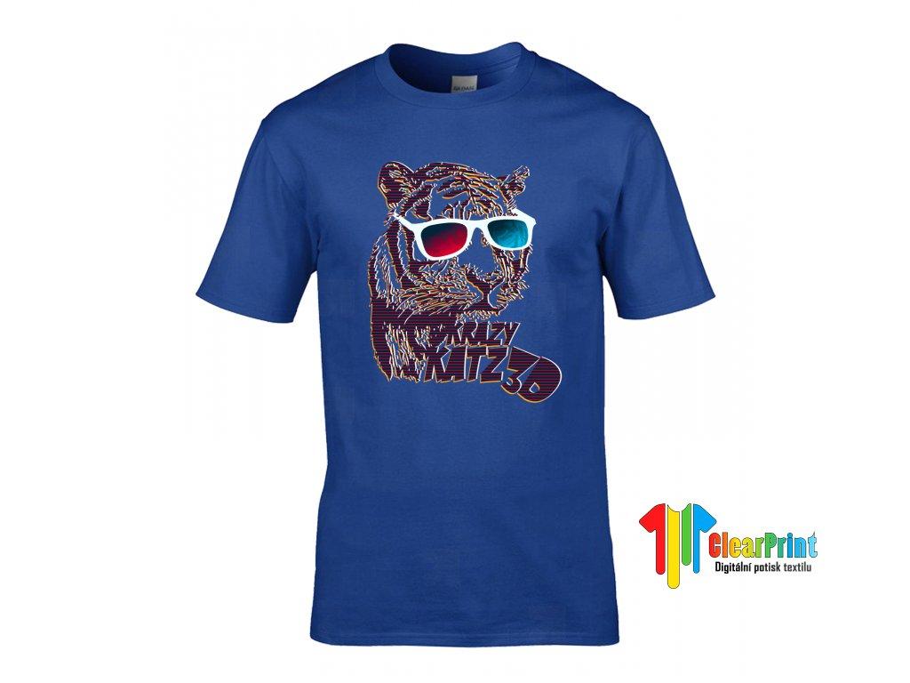 Krazy Katz 3D Náhled royal blue