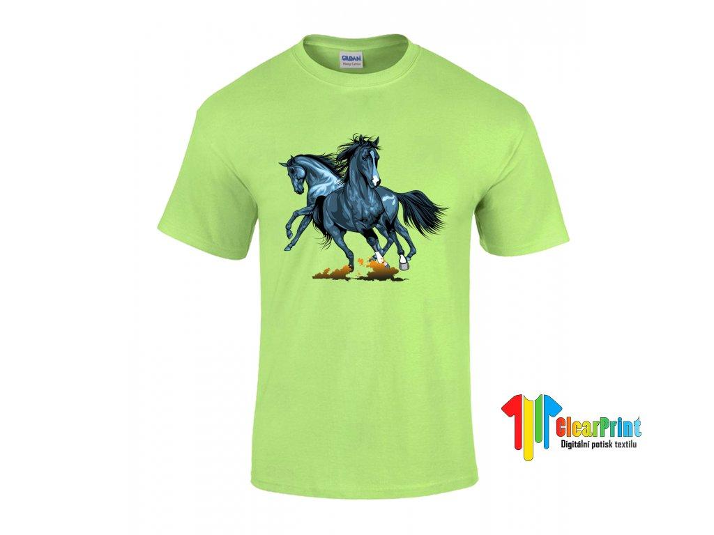 Horses Náhled mint green