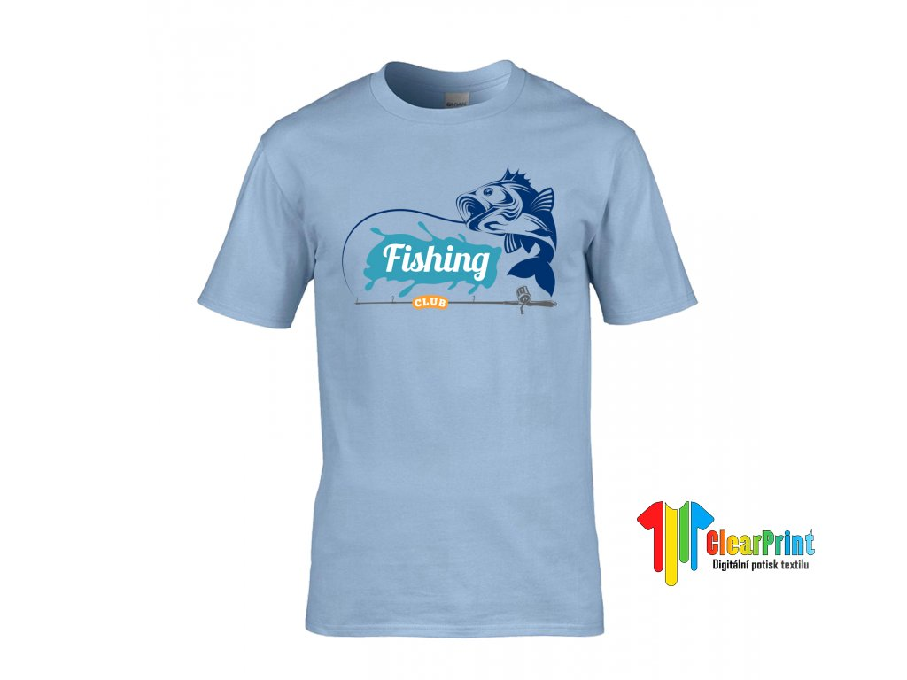 Fishing Náhled light blue