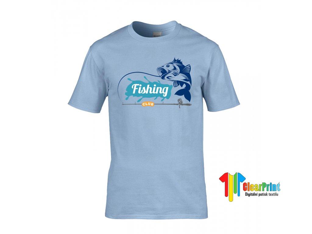 Fishing Náhled light blue