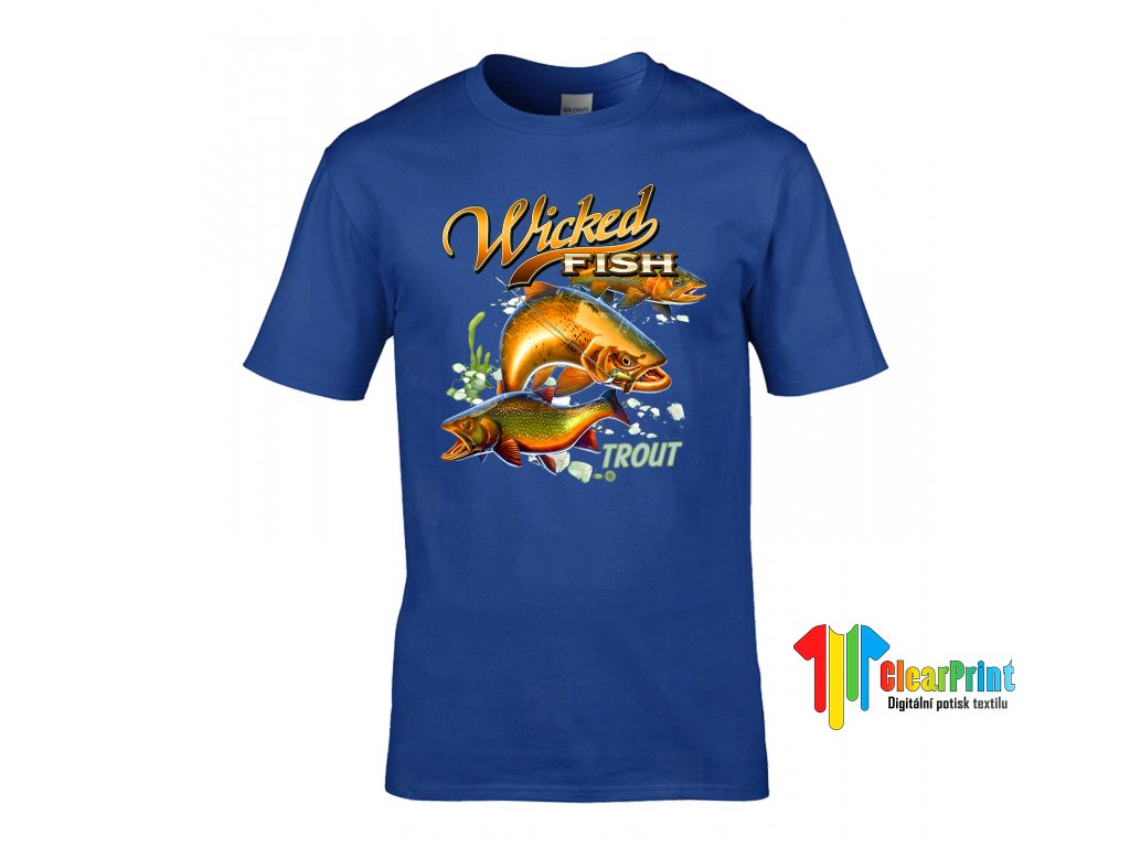 Tričko Wicked Fish