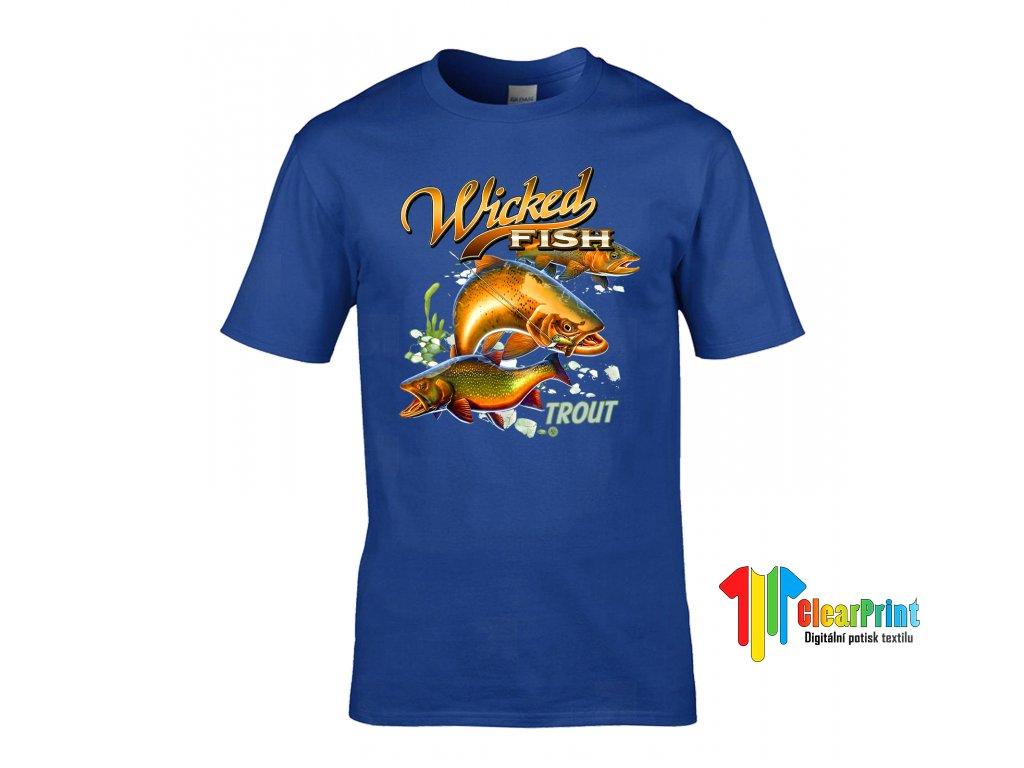 Tričko Wicked Fish
