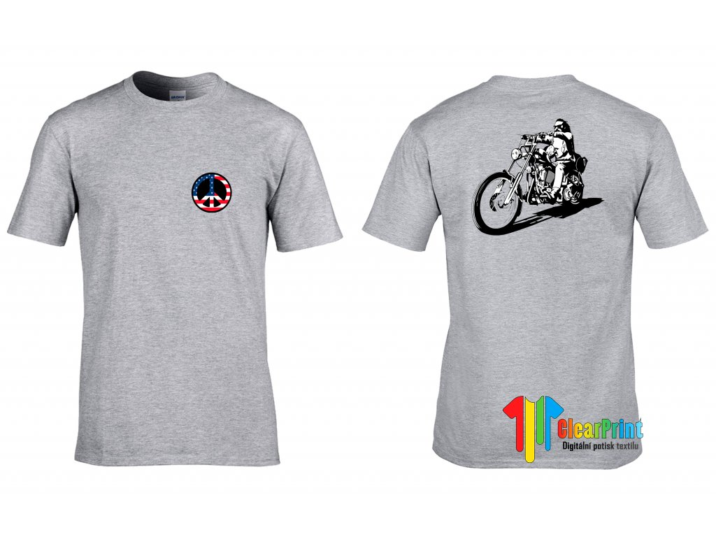Tričko Hippies Easy Rider
