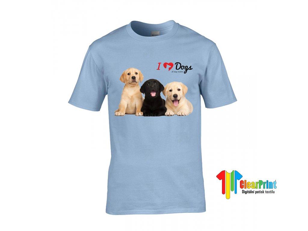Tričko I Love Dogs
