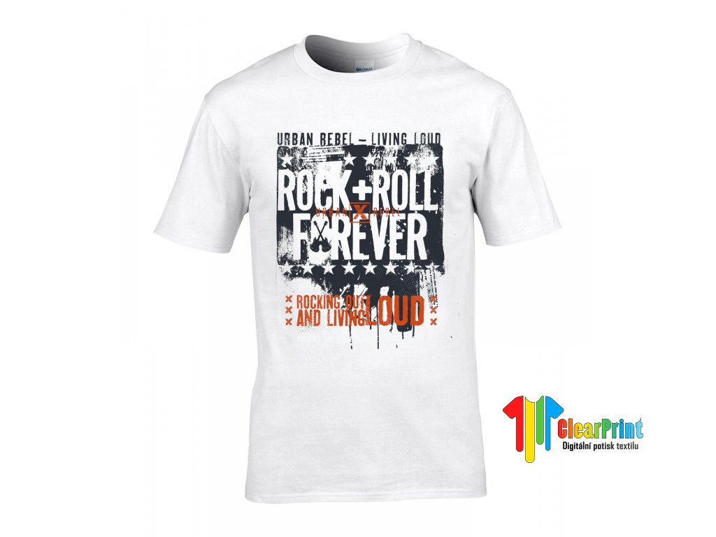 Tričko Rock & Roll Forever