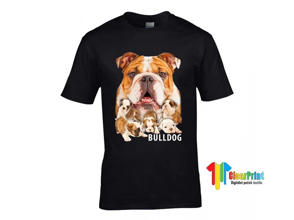 Tričko Bulldog's family