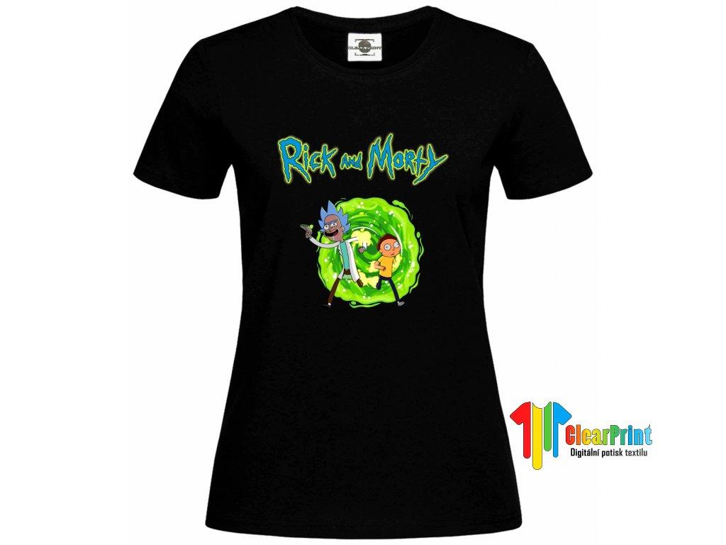 Rick And Morty 1 Náhled black