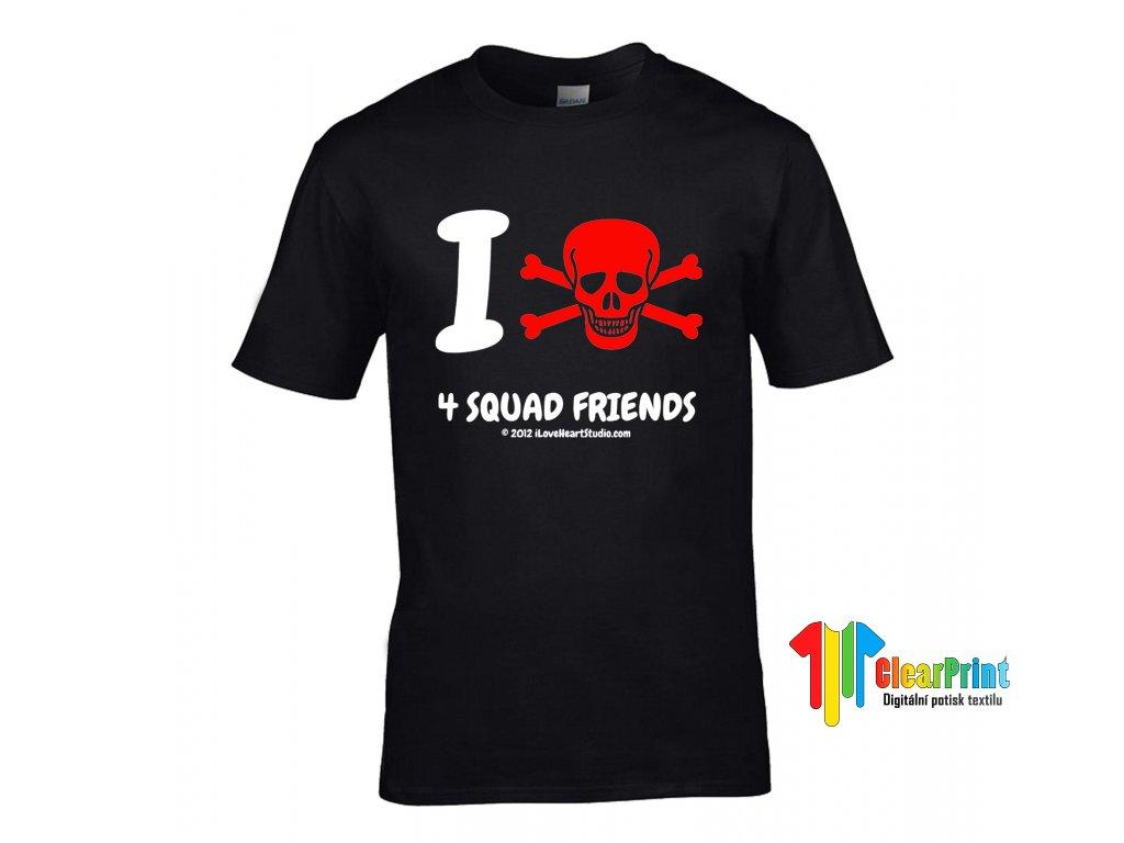 Tričko I Death 4 Squad