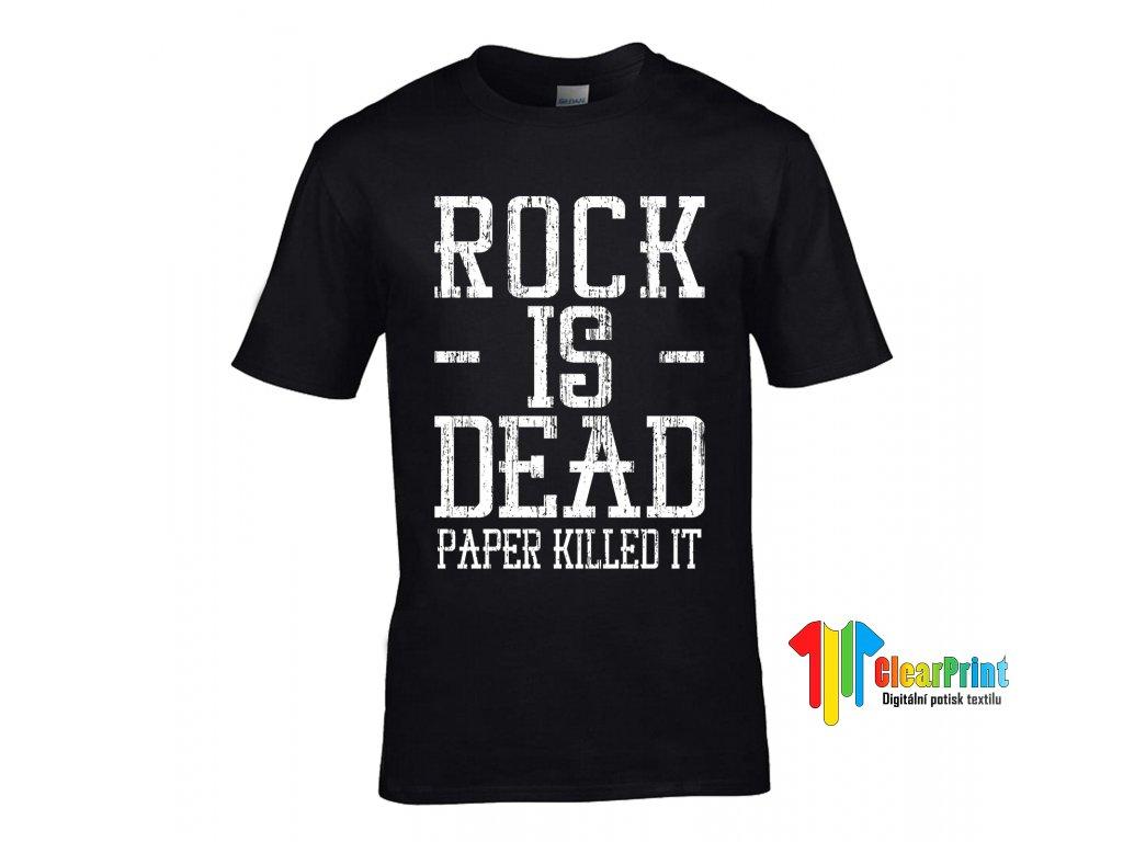 Tričko Rock Is Dead