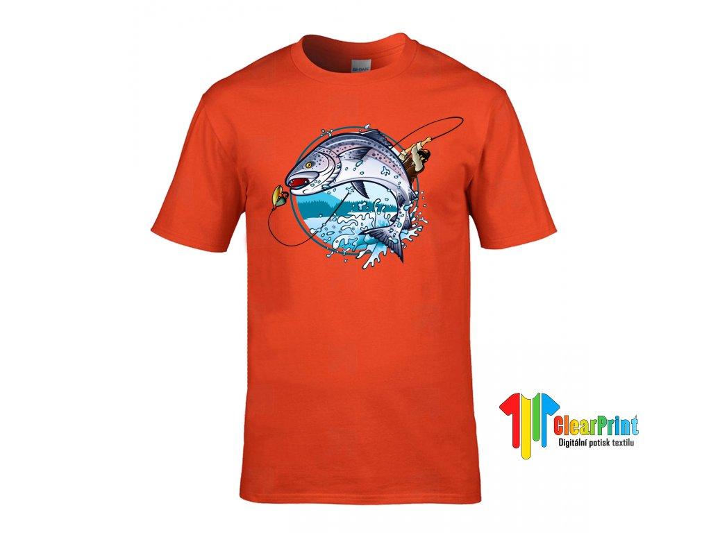 Tričko Rybář