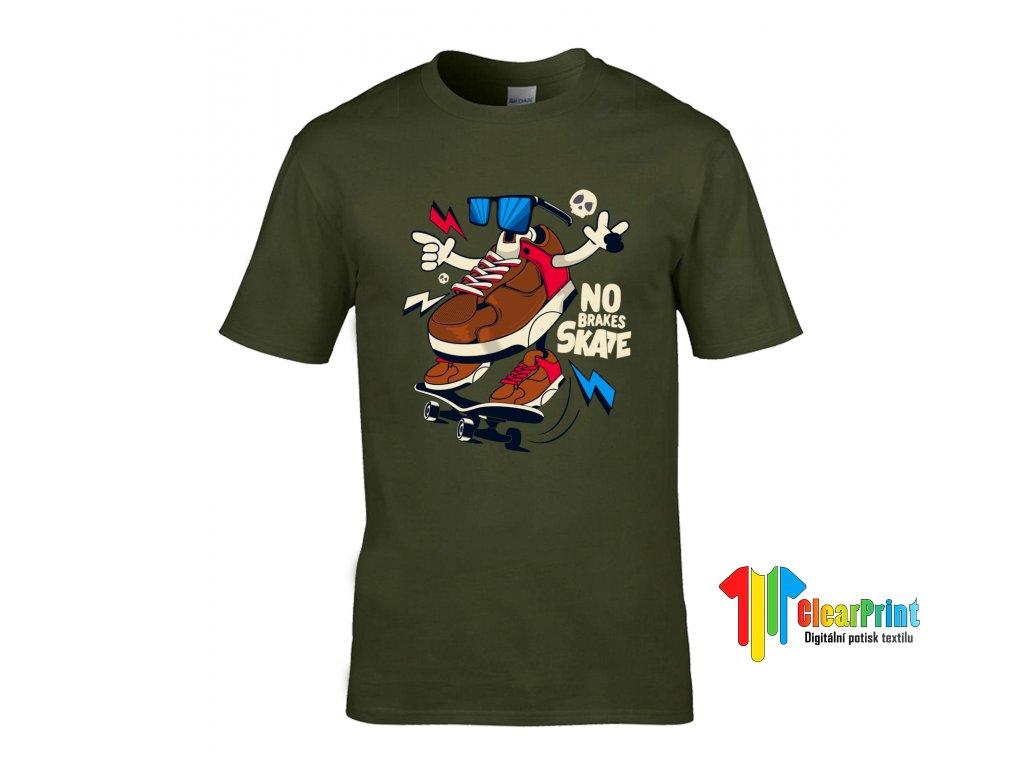 Tričko No Brakes Skate