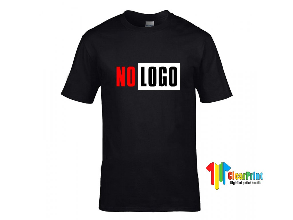 No Logo Náhled black