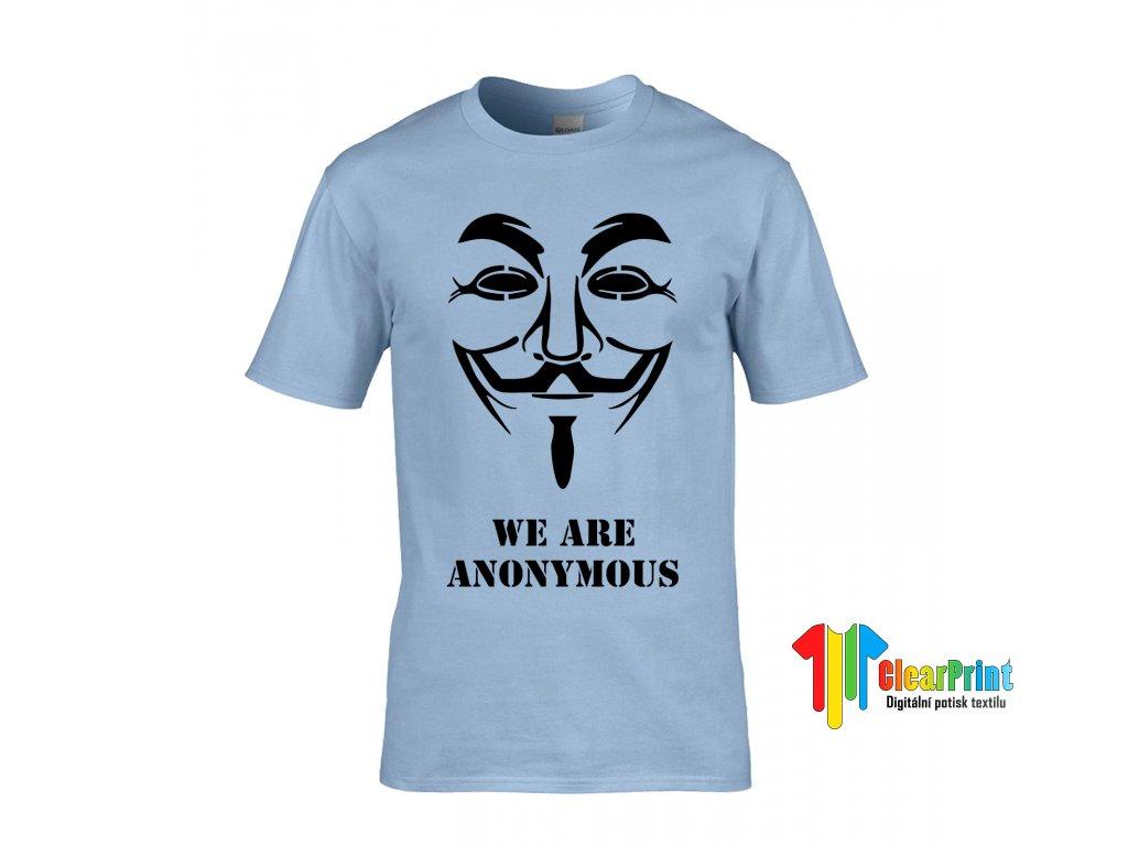 Anonymous Náhled light blue