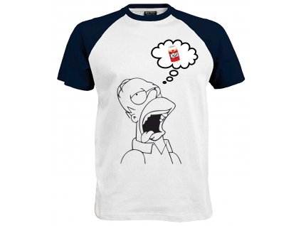 Homer Duff Dreams Náhled navy white
