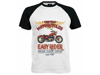 Custom Motorcycles Estd.1987 Náhled khaki